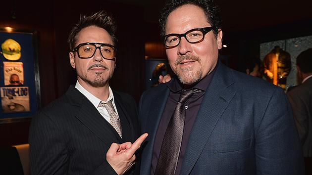 Downey and Favreau Trade High Tech Armor for a Food Truck in 'Chef'