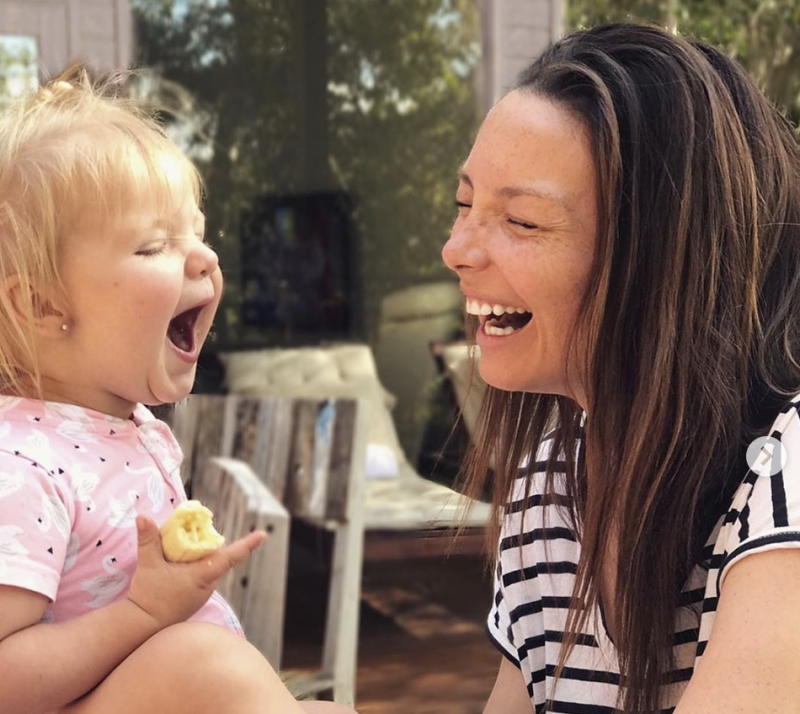 Ricki-Lee with her neice is preparing to host Australia's Got Talent