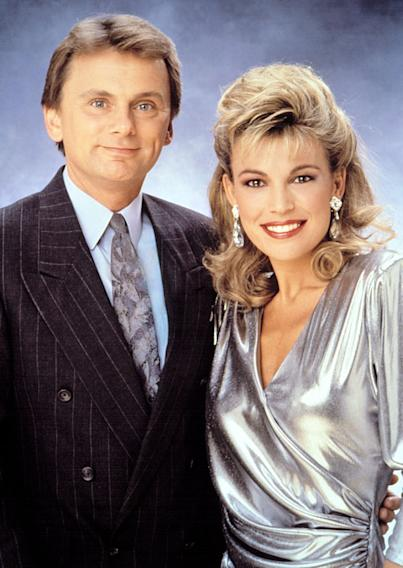 Pat Sajak and Vanna White (Wheel of Fortune)