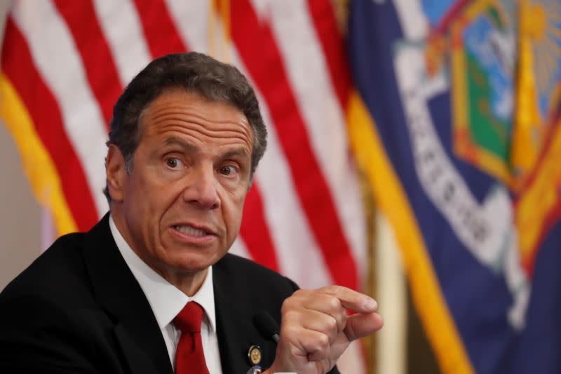 Cuomo: Yanks, Mets to train in New York if MLB resumes