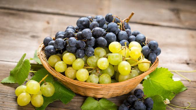 Buah anggur (Sumber: iStockphoto.com)