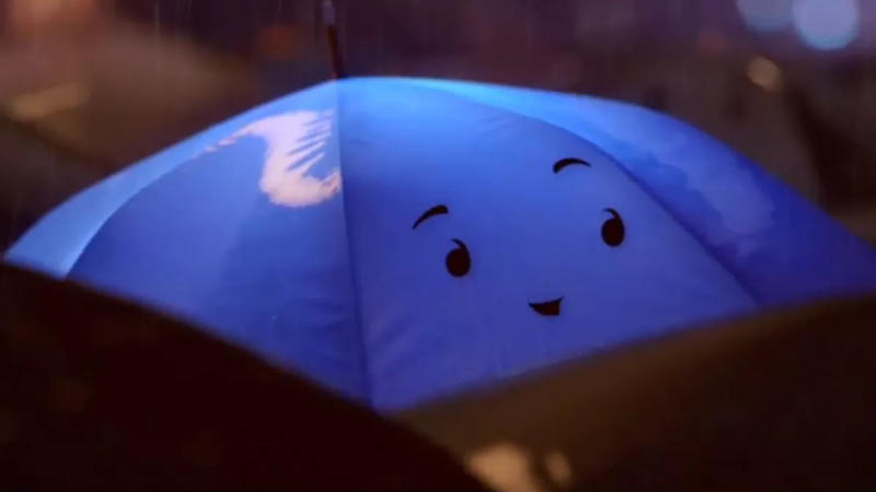 'The Blue Umbrella'. (Credit: Pixar)