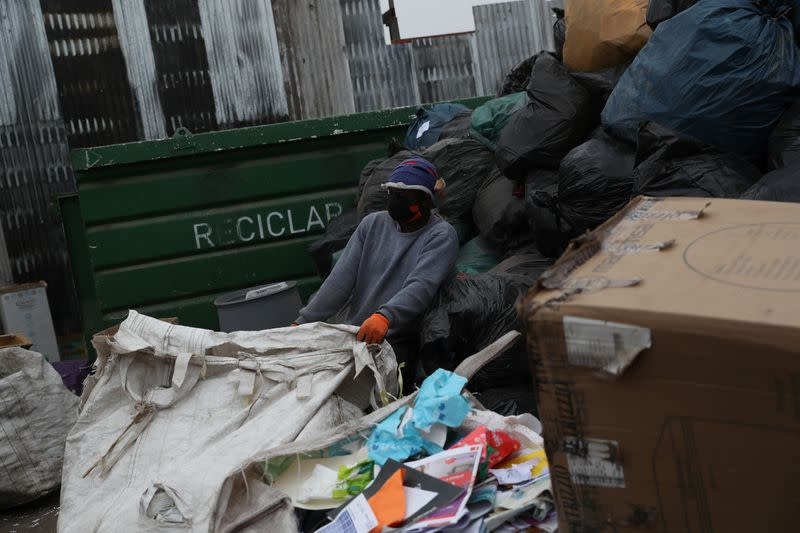 Recycling during COVID-19 outbreak in Santiago
