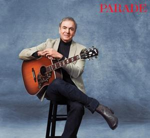 Exclusive! Neil Diamond Discusses May-December Marriage with Parade Magazine