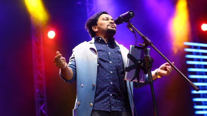 Tompi di Java Jazz 2017 (Adrian Putra/Bintang.com)