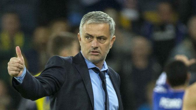 Jose Mourinho. (AFP/Jack Guez)