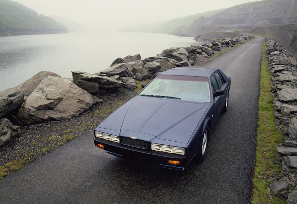 Lagonda (1976-1990) - The controversial Lagonda was designed by William Towns and launched in 1976. It attracted a huge amount of publicity and sales were strong (AMHT)
