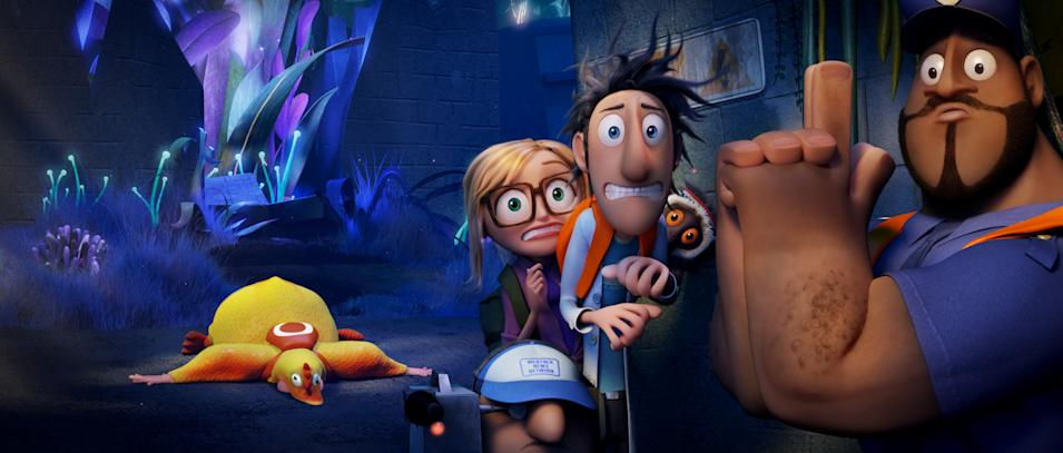 Cloudy With a chance of meatballs 2 still 4