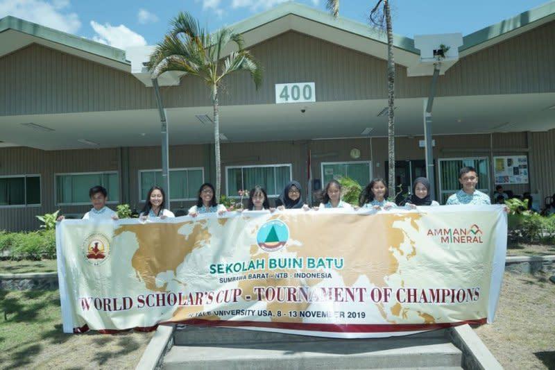 Sekolah tambang Batu Hijau wakili RI di ajang kompetisi internasional