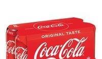 【可樂 6/5 報價】可樂汽水八罐裝$33.5(惠康);可樂十二罐裝$38(惠康);零系汽水$11.5 - $25/3(惠康)