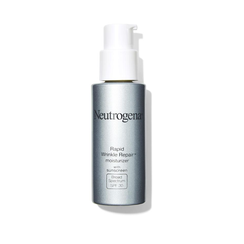 """<p><strong>Neutrogena</strong></p><p>amazon.com</p><p><strong>$17.82</strong></p><p><a href=""""https://www.amazon.com/dp/B004D2C57M?tag=syn-yahoo-20&ascsubtag=%5Bartid%7C10055.g.723%5Bsrc%7Cyahoo-us"""" target=""""_blank"""">Shop Now</a></p><p>This top dermatologist pick from Neutrogena aced the GH Beauty Lab's anti-aging day cream test. The <strong><a href=""""https://www.goodhousekeeping.com/institute/about-the-institute/a22148/about-good-housekeeping-seal/"""" target=""""_blank"""">Good Housekeeping Seal Star</a></strong> <strong>quenches dry skin and protects against the sun's rays with SPF 30</strong>. Consumers liked that it absorbed quickly, didn't irritate (even with retinol) and had little scent. One said, """"Hands down, the best wrinkle cream I've tried!"""" GH Lab tests found that it firmed and moisturized, evened tone and could smooth fine lines over time.</p>"""