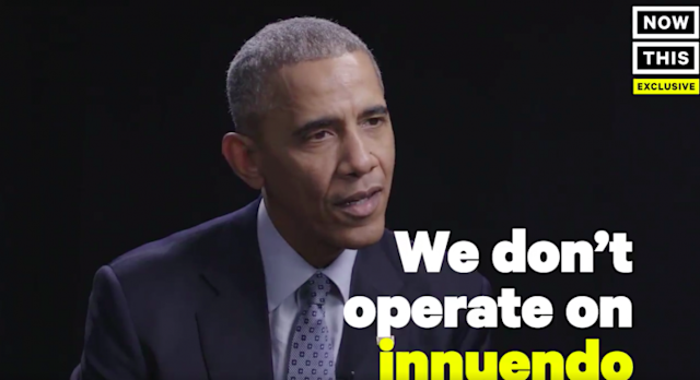 President Obama. (Screenshot: NowThis News/Twitter)