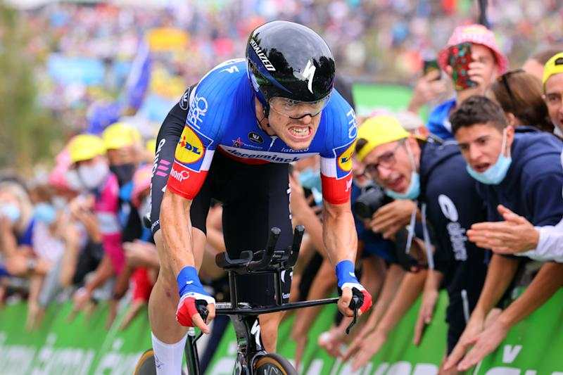 Tour de France 2020 - 107th Edition - 20th stage Lure - La Planche des Belles Filles 36.2 km - 19/09/2020 - Remi Cavagna (FRA - Deceuninck - Quick Step) - photo Kei Tsujii//BettiniPhoto©2020