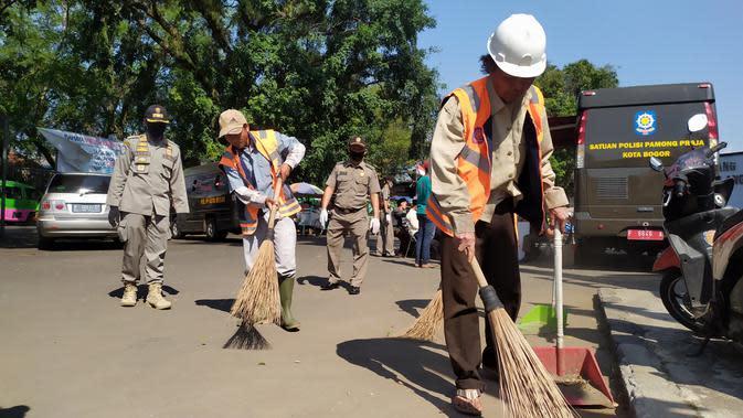 Satpol PP Kota Bogor Raup Puluhan Juta dari Pelanggar Jam Operasional PSBB