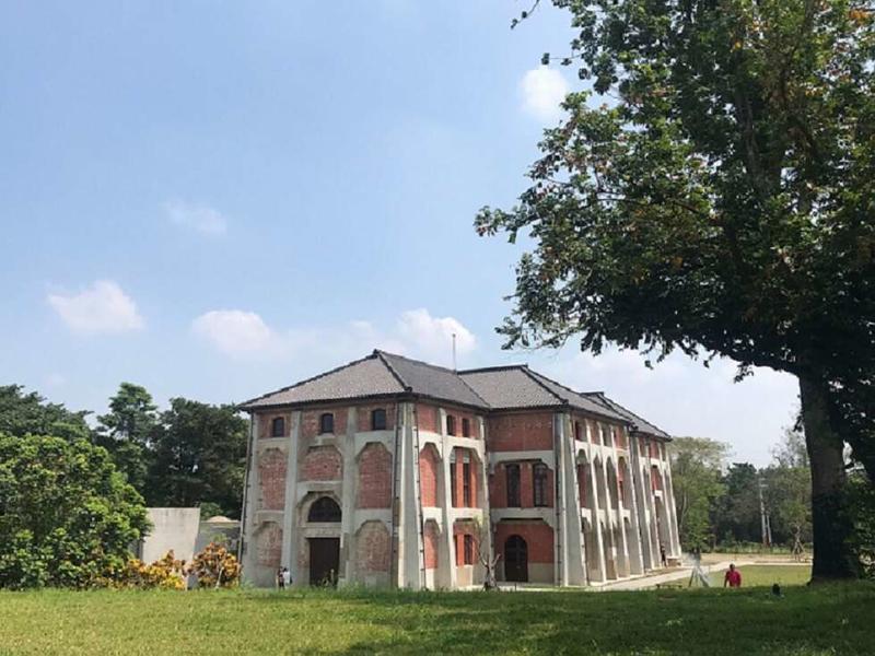 台南山上花園水道博物館