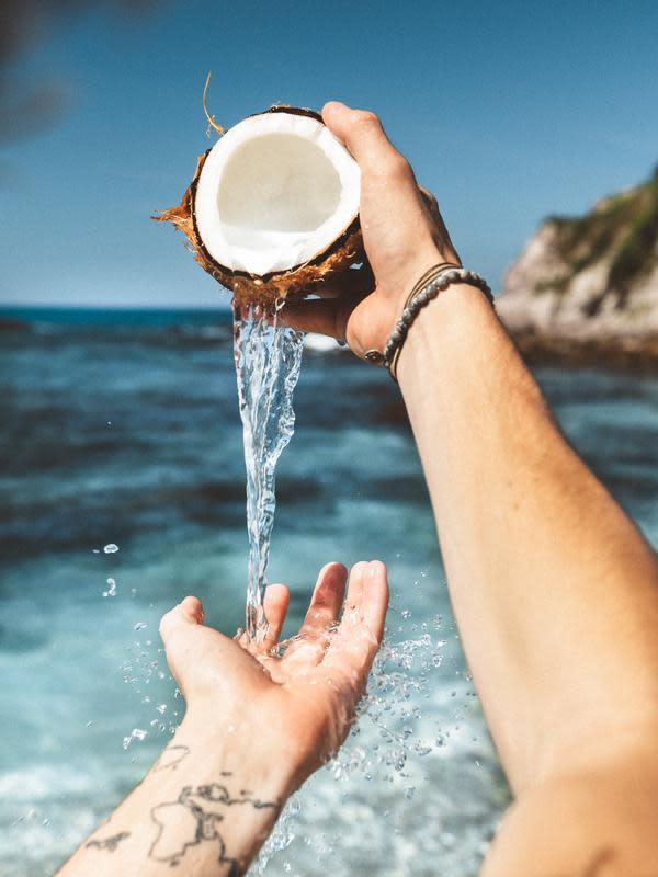 ilustrasi air kelapa muda/pexels