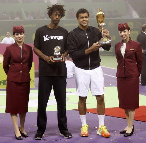 Qatar Exxon Mobil Open: France's Jo Wilfred-Tsonga came out winner of the ATP World Tour Championship.