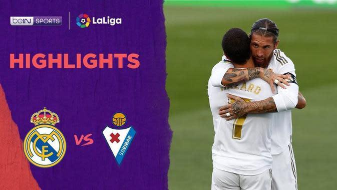 VIDEO: Highlights La Liga, Real Madrid Taklukkan Eibar 3-1
