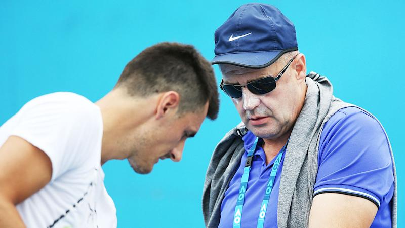 Tomic's father John tipped Bernard to win multiple majors earlier in his career.