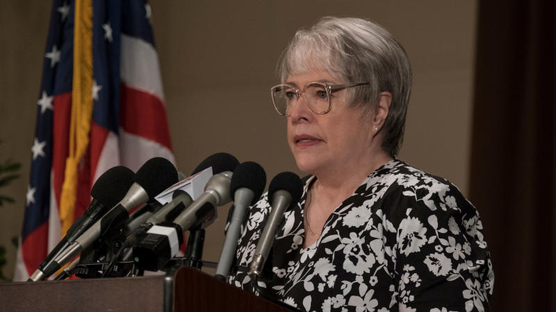 Kathy Bates in 'Richard Jewell'. (Credit: Claire Folger/Warner Bros)