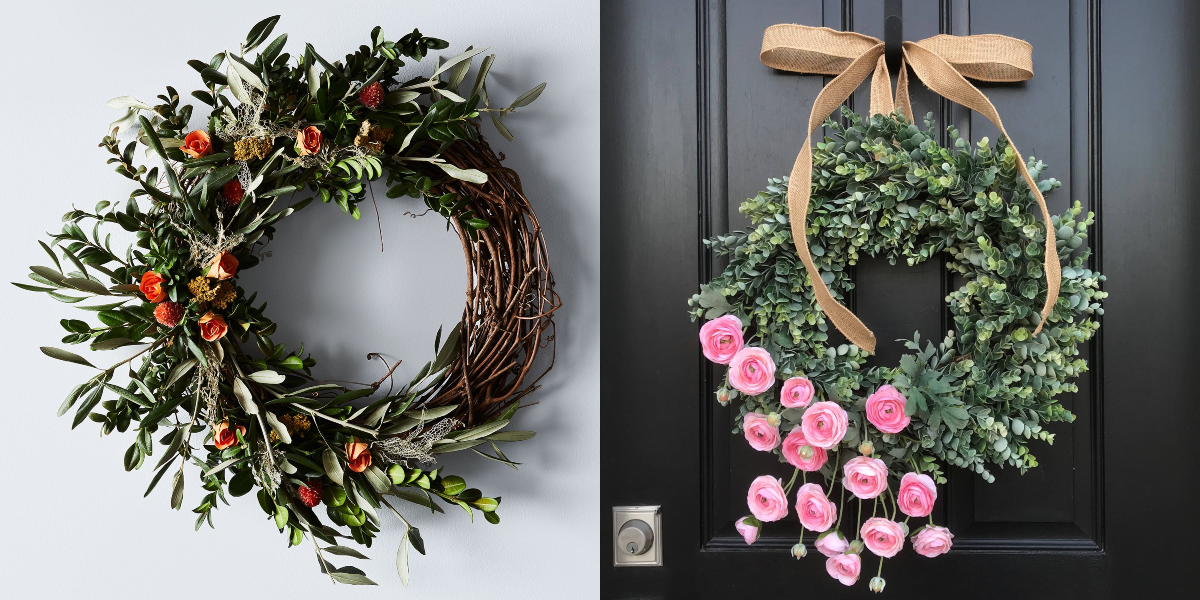 "<p>Warm weather and beautiful blooms are just around the corner, and the easiest way to usher in spring is to add a fun, fresh wreath to your front door. Whether you're shopping for ones made with artificial flowers or dried herbs and botanicals, or you're itching to DIY your own with <a href=""https://www.housebeautiful.com/entertaining/flower-arrangements/g19409803/easter-flower-arrangements/"" target=""_blank"">fresh florals</a>, these wreaths—and a few wreath alternatives and nontraditional styles—are the perfect way to celebrate the end of winter. It may not be time for the spring solstice yet (that falls on March 19th this year, by the way), but that doesn't mean you can't start decorating like it is. Plus, if you celebrate Easter, there are quite a few festive options to choose from, too. </p>"