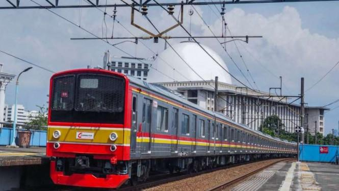Jam Operasional KRL Berubah Selama PSBB Jakarta, Catat Waktunya