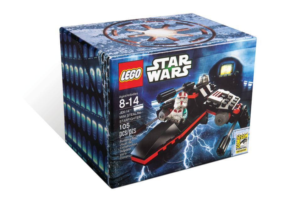 "LEGO ""Star Wars"" JEK-14 Mini Stealth Starfighter San Diego Comic-Con 2013 Exclusive"