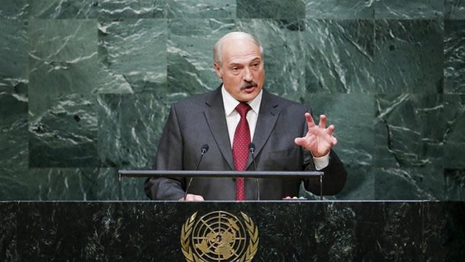 Presiden Belarusia Bawa Anaknya yang Berusia 11 Tahun ke PBB (Guardian)