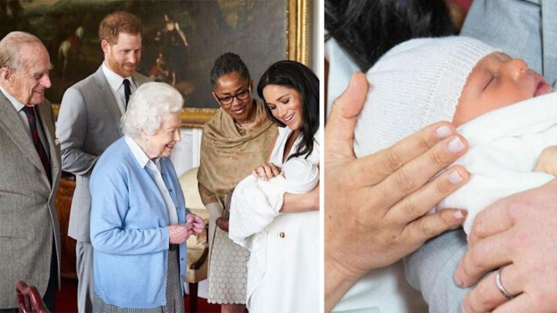 Harry and Meghan introduce Archie to the Queen