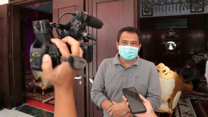 Kepala Dinas Pendidikan (Dispendik) Kota Surabaya Supomo (Foto: Liputan6.com/Dian Kurniawan)