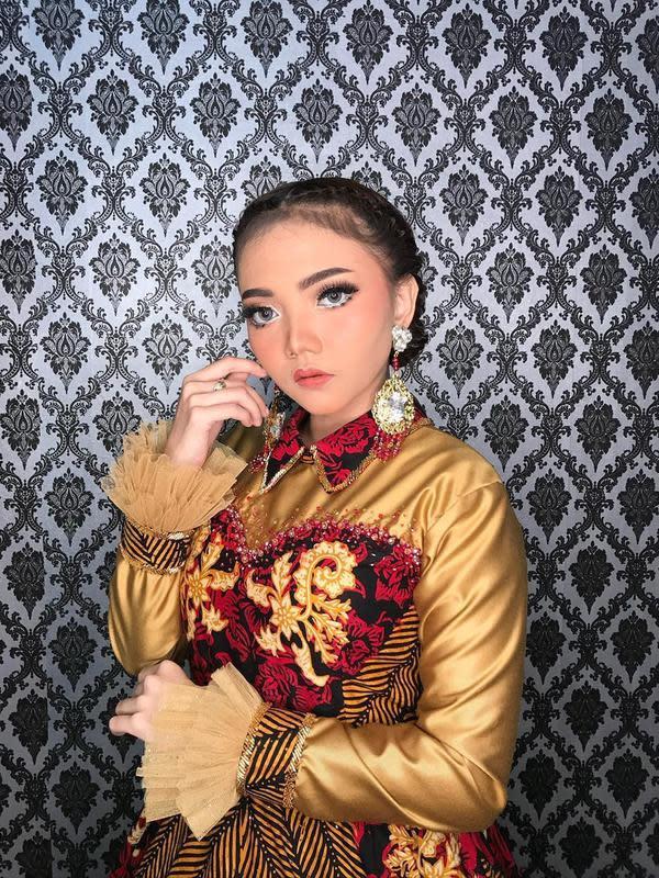 Potret pesona Syahiba Saufa penyanyi dangdut pendatang baru asal Banyuwangi, Jawa Timur. (Sumber: Instagram/syahiba_saufa)