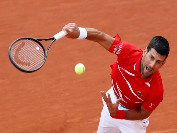 World number one tennis player Novak Djokovic