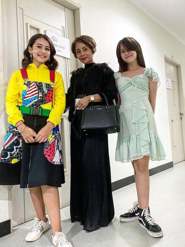 Gaya Seleb Wanita Bintang Sinetron saat HUT SCTV (Sumber: Instagram//wanti_wanti_15/