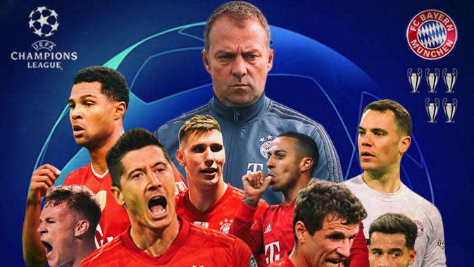 Liga Champions - Bayern Munchen (Bola.com/Adreanus Titus)