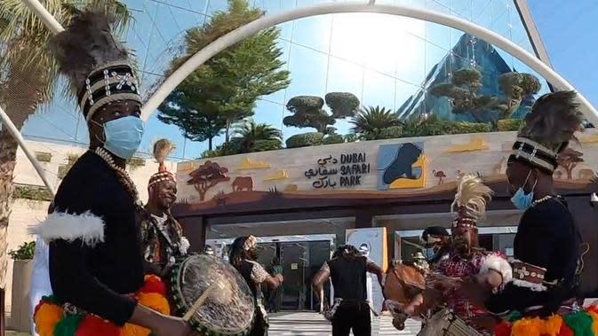 Taman Safari Dubai dibuka kembali setelah sempat tutup (Dok.Instagram/@dubaisafaripark/https://www.instagram.com/p/CF_h8DppRpC/Komarudin)
