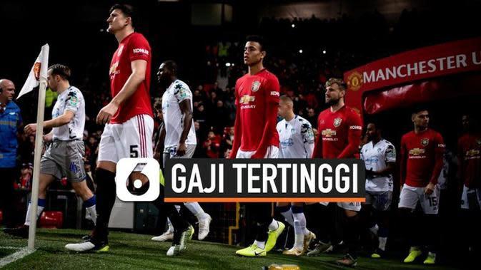 VIDEO: Daftar Pemain MU dengan Gaji Tertinggi di Liga Inggris