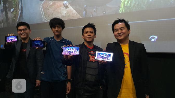 Peluncuran turnamen Esports di awal 2020 bernama Free Fire Master League Season I oleh Produser Garena Free Fire, Christian Wihananto (Liputan6.com/ Agustin Setyo W).