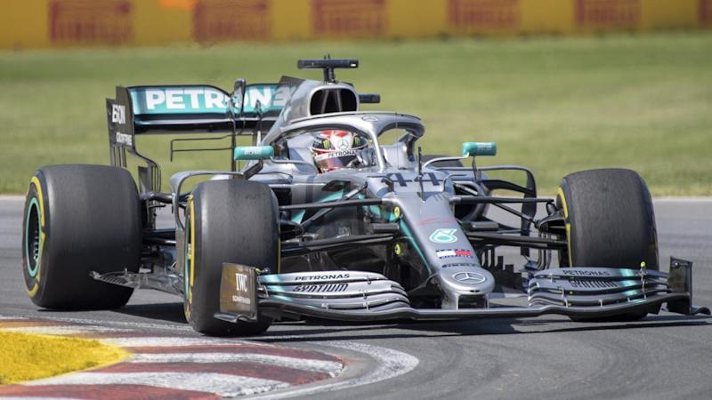 Lewis Hamilton has won the Canadian Grand Prix a seventh time after Sebastian Vettal was penalised