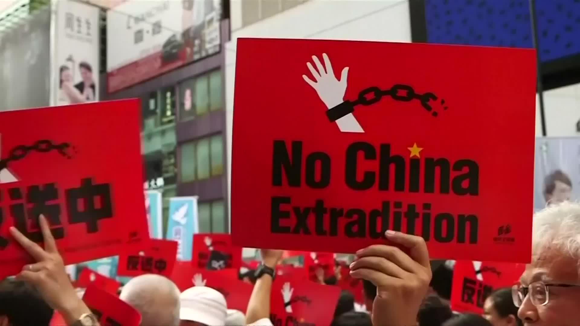 反對修訂逃犯條例 百萬港人「反送中」遊行寫歷史
