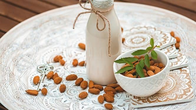 Manfaat Kesehatan dengan Susu Almond