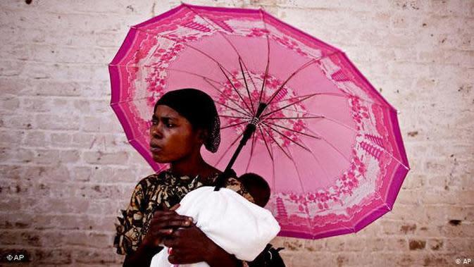 Perempuan Republik Demokrasi Kongo. (Source: AP)