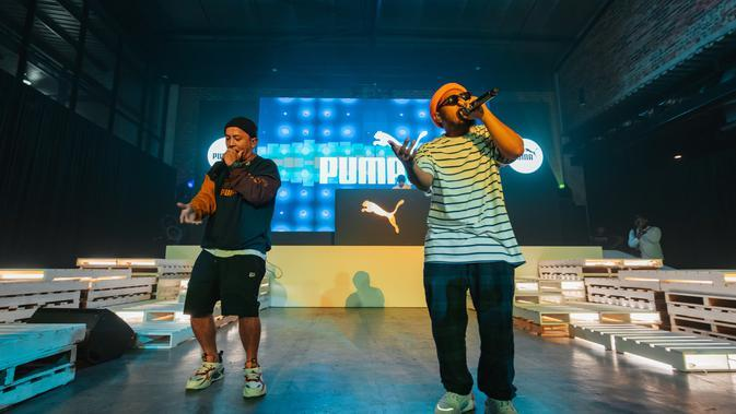 Pertunjukan Tuan Tigabelas di PUMA Spring Summer 2020 Preview Party. Sumber foto: Document/PUMA.
