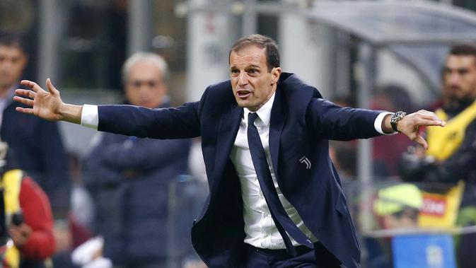 Massimiliano Allegri (AP Photo/Antonio Calanni)