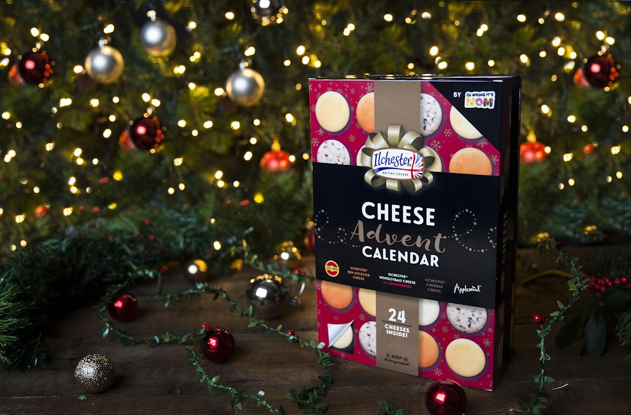 "<p>Somewhere, somehow, advent calendars went from a kid-friendly countdown to Christmas to an excuse to eat (or drink) something delicious every day, December 1st to December 24th. Last year, we saw a ton of boozy sets—<a href=""https://www.delish.com/food-news/a23568965/twelve-nights-of-wine-box/"" target=""_blank"">wine</a>, <a href=""https://www.etsy.com/listing/488748807/beer-advent-calendar"" target=""_blank"">beer</a>, even <a href=""https://www.delish.com/holiday-recipes/news/a55176/gin-and-tonic-advent-calendar/"" target=""_blank"">gin</a>. There are also plenty of chocolate calendars and even a <a href=""https://www.worldmarket.com/product/the-english-tea-shop-advent-calendar-24-count.do?sortby=ourPicks"" target=""_blank"">tea calendar</a> for those more inclined to casually sip their way through December.</p><p>But perhaps the best creation? A cheese advent calendar! Because who—save for vegans and the lactose-intolerant—wouldn't want to eat a bite of cheese every day for three weeks?! The idea has surely crossed your mind (and maybe your <a href=""https://www.pinterest.com/pin/528117493788861631/"" target=""_blank"">Pinterest feed</a>) before, but this year, you can actually purchase one. Clear some space in your fridge ASAP.</p>"