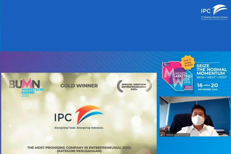 IPC raih tiga penghargaan BUMN Marketeers Awards 2020