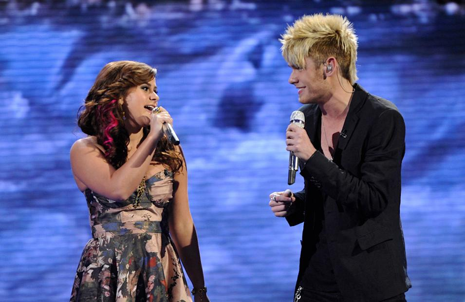Skylar Laine and Colton Dixon - 4/04/12