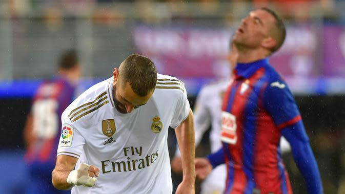 Pemain Real Madrid. (AFP/Ander Gillenea)