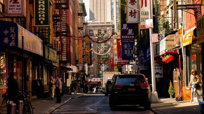 Ilustrasi Chinatown, New York City (unsplash)