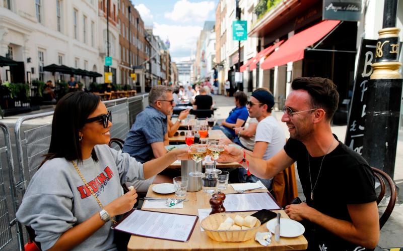 Eat Out to help out - Tolga Akmen/AFP
