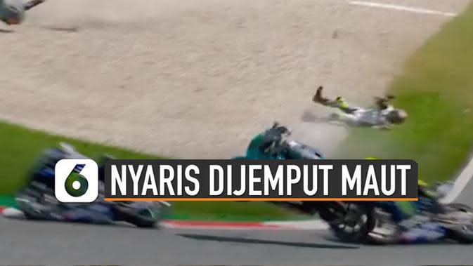 VIDEO: Momen Rossi Nyaris Dijemput Maut di GP Austria